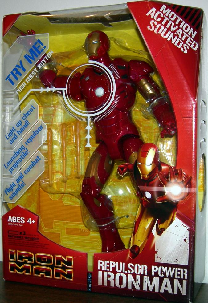 12 inch Repulsor Power Iron Man Movie action figure