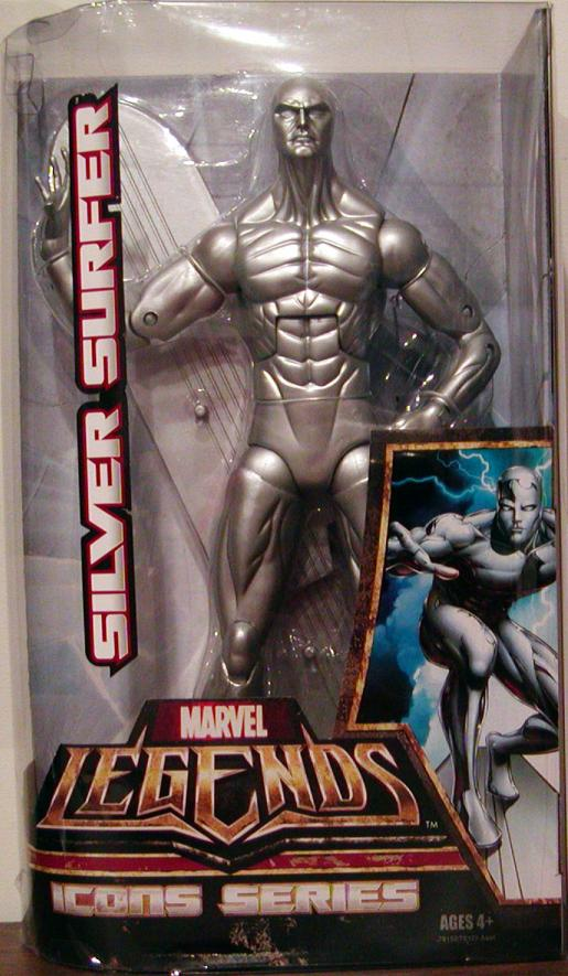 Silver Surfer Figure Marvel Legends Icons 12 Inch
