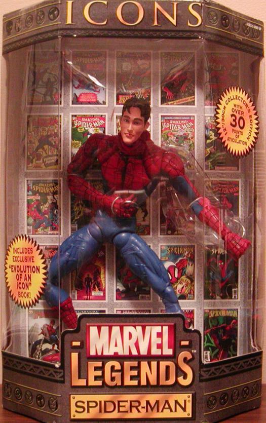 12 inch Spider-Man Unmasked, Marvel Legends Icons action figure