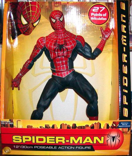 Poseable Spider-Man 2 Action Figure 12 Inch Toy Biz