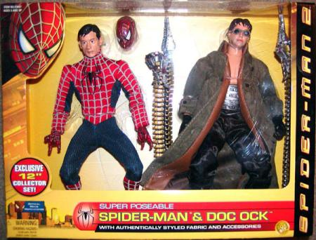 12 inch Super Poseable Spider-Man 2 Doc Ock