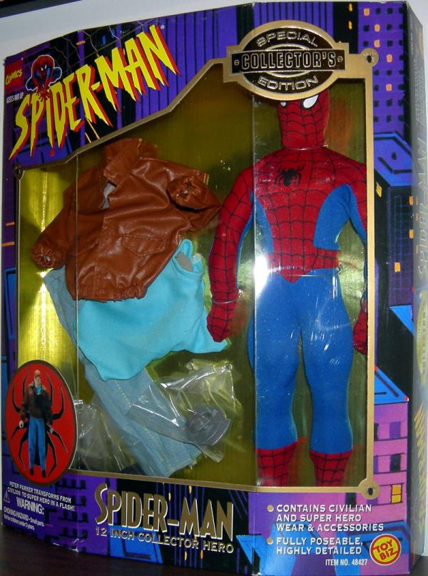 12 inch Peter Parker Spider-Man Collector Hero action figure