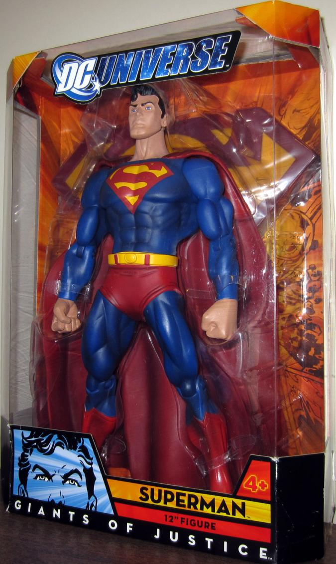 12 inch Superman, DC Universe, Giants Justice