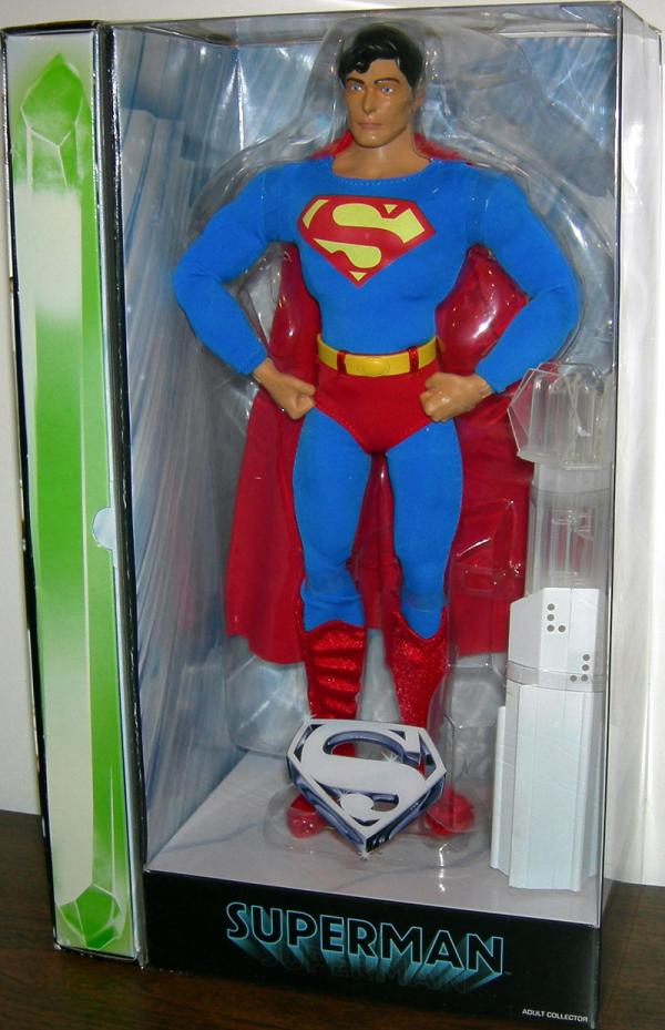 Superman Movie Masters Figure 12 Inch Christopher Reeves Mattel