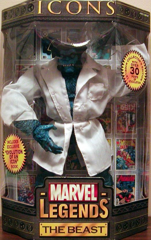 12 inch Beast, Marvel Legends Icons, blue