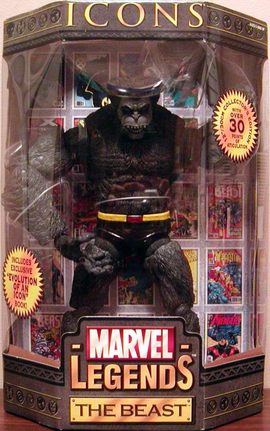 12 inch Beast, Marvel Legends Icons, gray