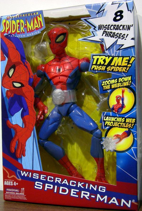 Wisecracking Spider-Man Figure 8 Phrases 12 Inch
