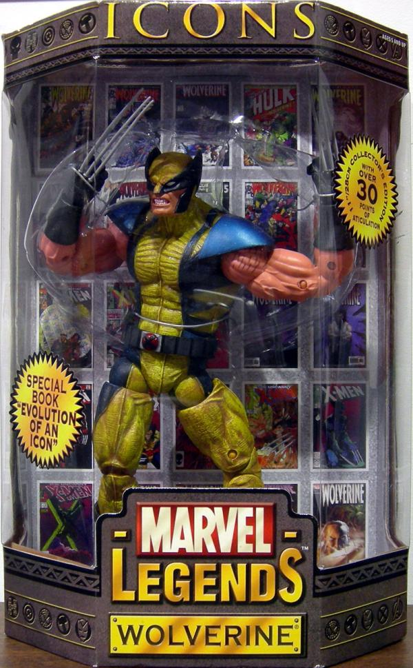 11 inch Wolverine, Marvel Legends Icons, masked action figure