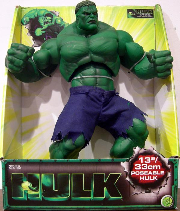 13 inch Poseable Hulk Movie action figure