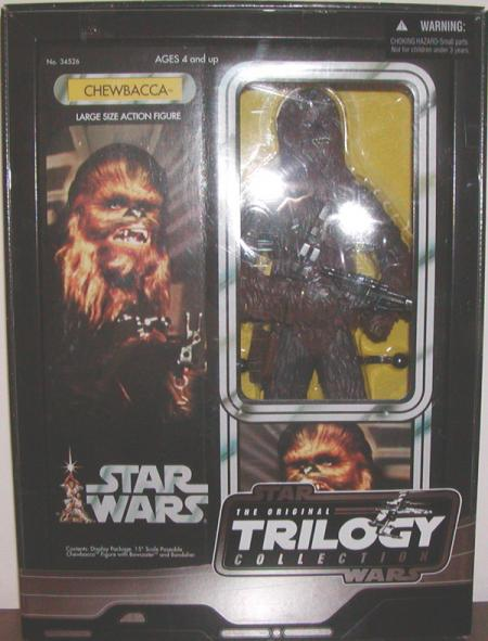 15 inch Chewbacca, Vintage Original Trilogy Collection