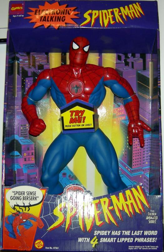 15 inch Electronic Talking Spider-Man, Classic