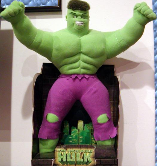 16 inch Hulk, plush