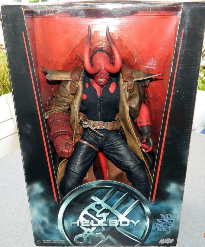 18 Inch Hellboy Horns Figure Movie Series