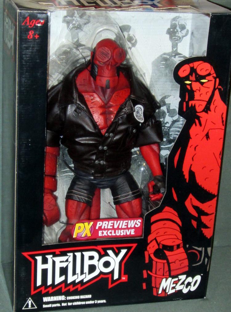 Hellboy Figure 18 Inch Previews Exclusive Comic Series