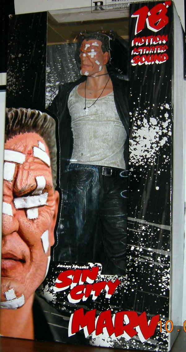 18 inch Marv Frank Miller Sin City Motion Activated Sound action figure