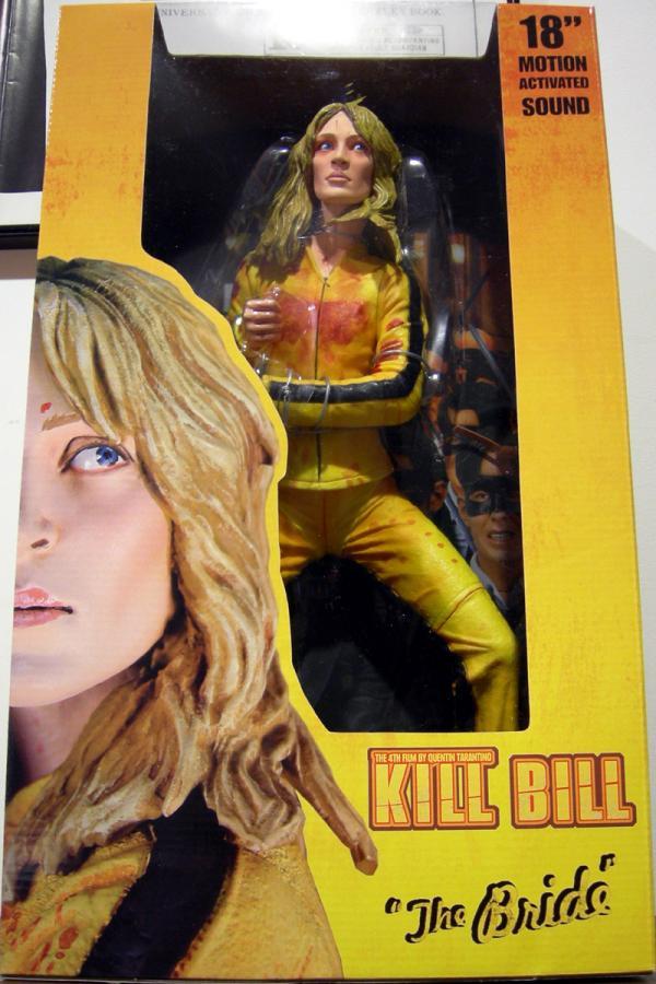 Bride Figure Kill Bill 18 Inch Neca Reel Toys