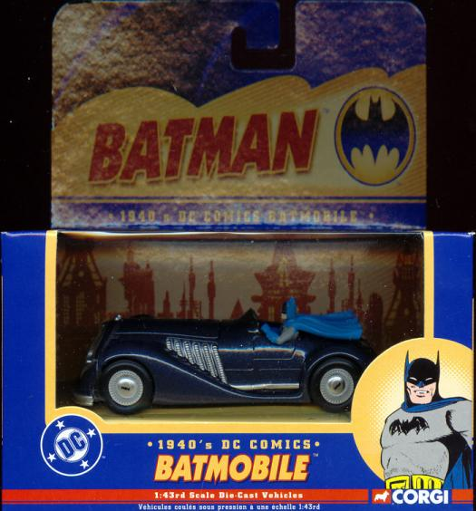 1940s Batmobile, Corgi