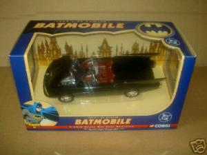 1960s Batmobile, Corgi
