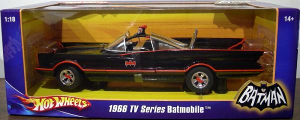 1966 TV Series Batmobile, 1-18th scale
