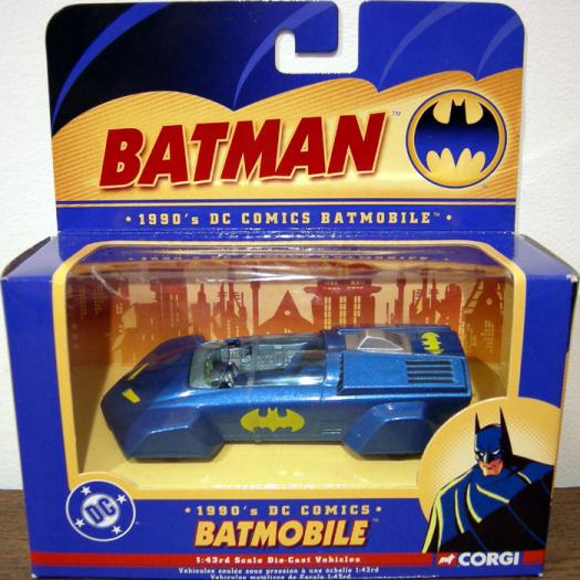1990s Batmobile, 1-43rd scale die-cast