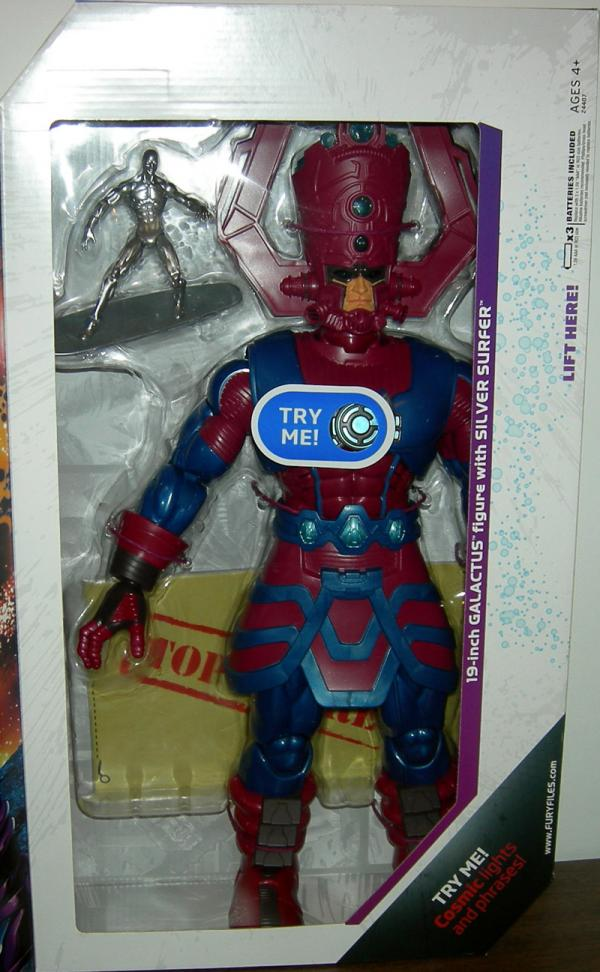 Galactus with Silver Surfer Marvel Universe Action Figures
