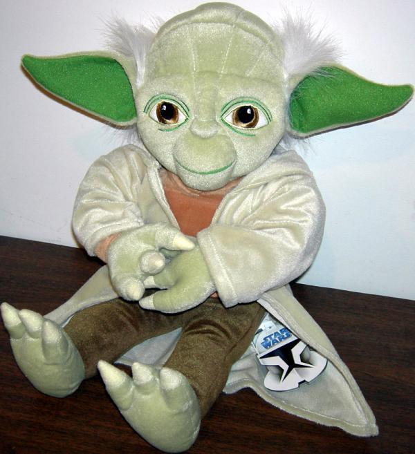19 inch Yoda Plush Pillow Buddy