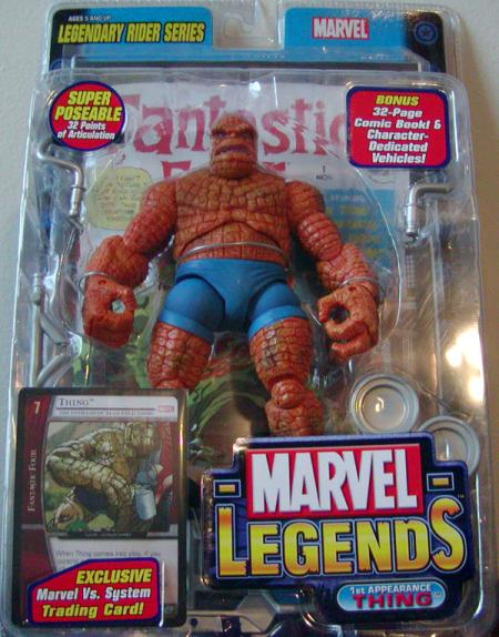 1st Appearance Thing, Marvel Legends