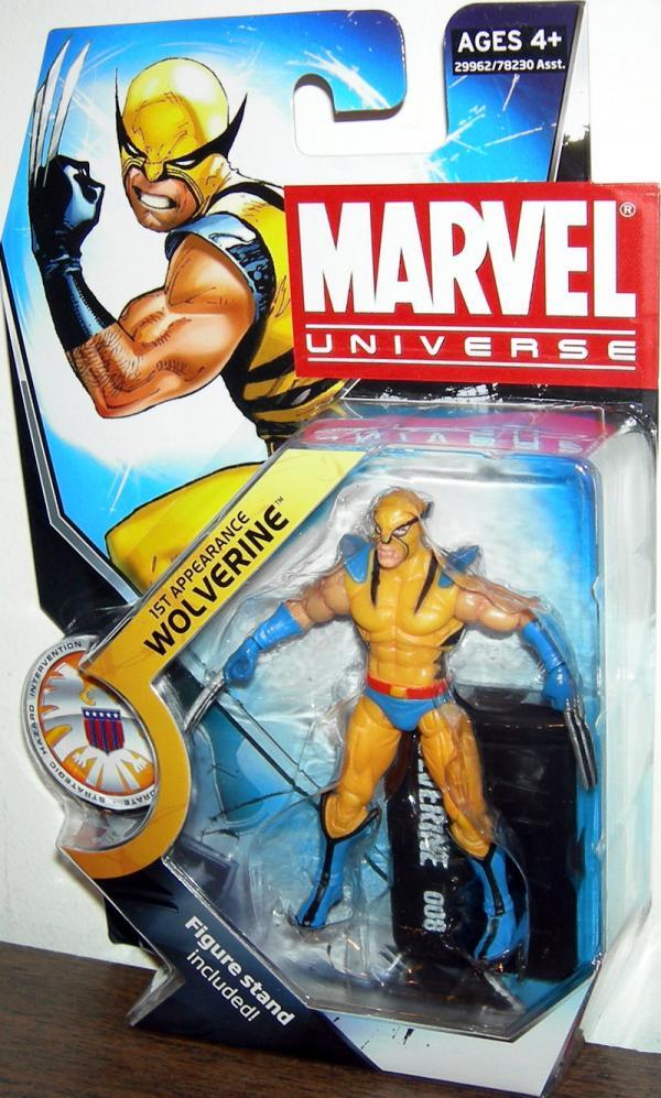 1st Appearance Wolverine, Marvel Universe, series 3, 008