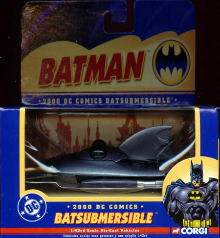2000 Batsubmersible, 1-43rd scale die-cast