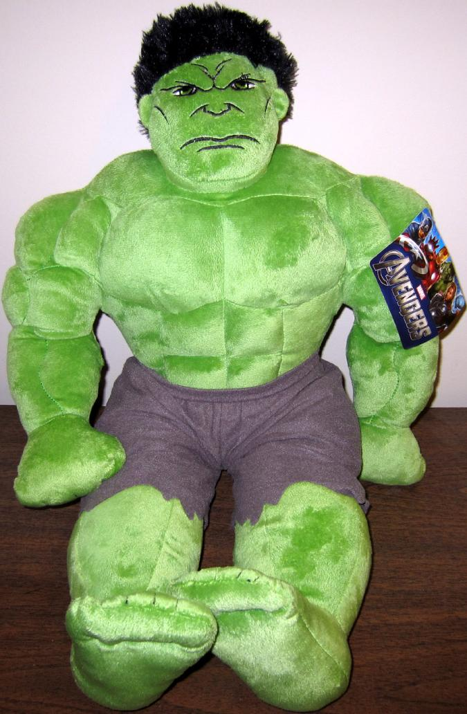 Hulk Pillowtime Pal 24 Inch Avengers Plush Jay Franco