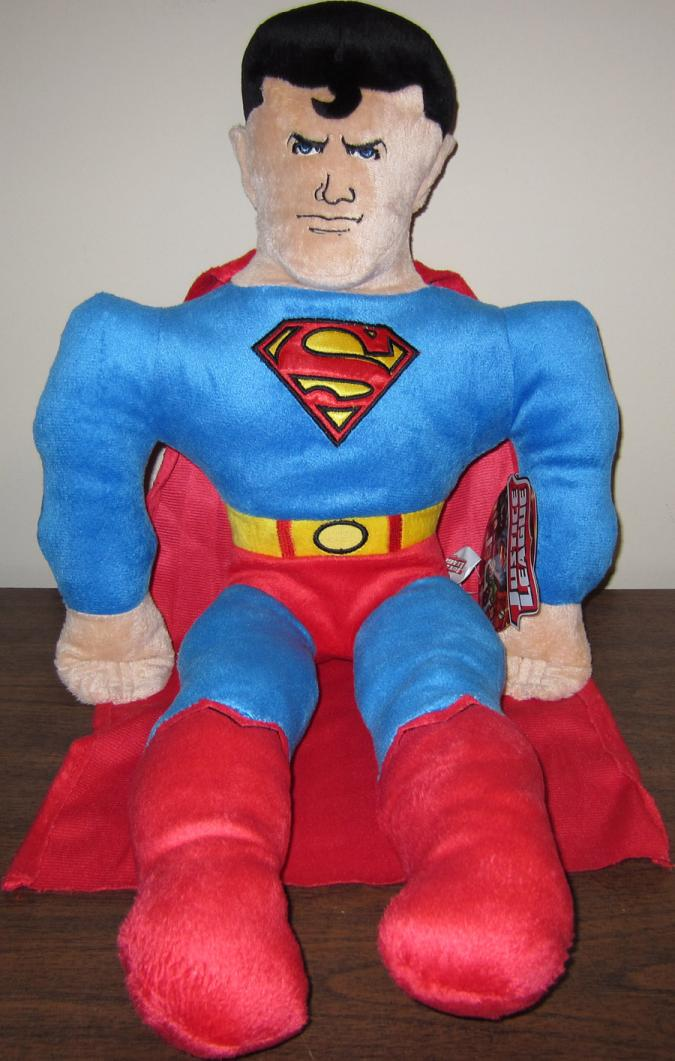 24 Inch Superman Plush Cuddle Pillow Justice League Target Exclusive