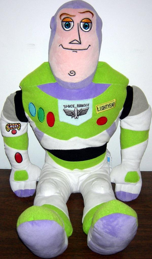 23 Inch Tall Buzz Lightyear Plush Pillowtime Pal Toy Story