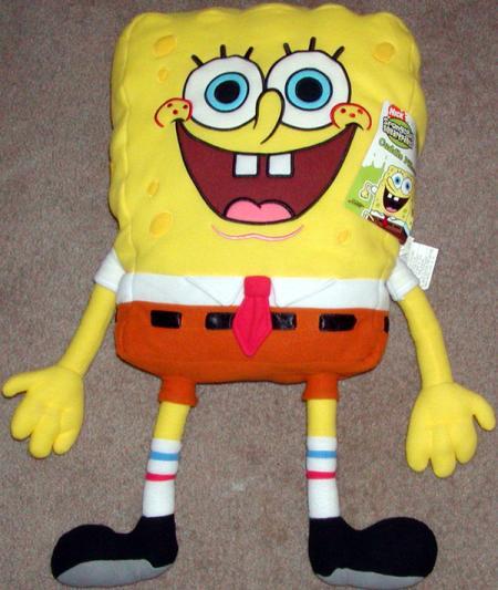 26 inch SpongeBob Squarepants Plush Cuddle Pillow
