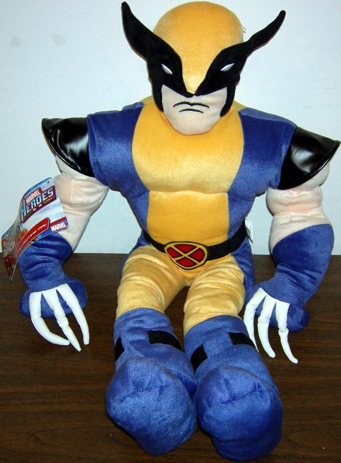 26 Inch Tall Wolverine Plush Pillowtime Pal X-Men