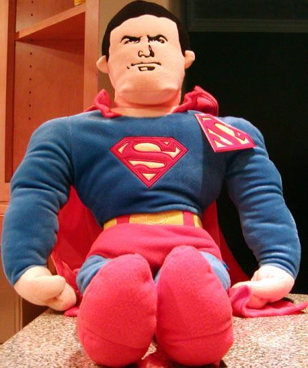 34 inch Superman Plush Cuddle Pillow