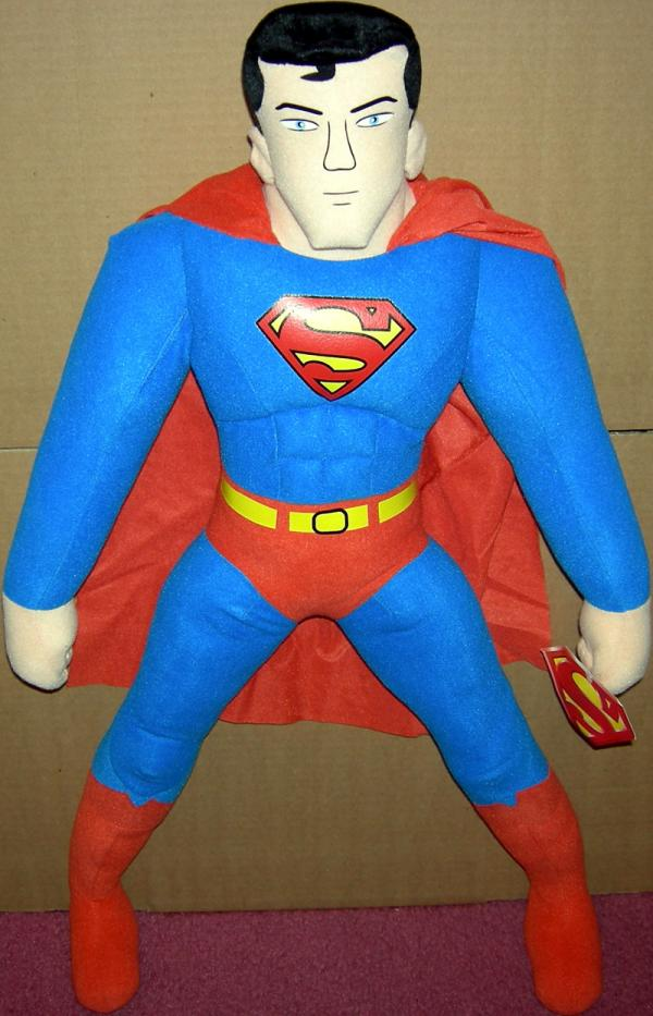 34 inch Superman Plush soft head