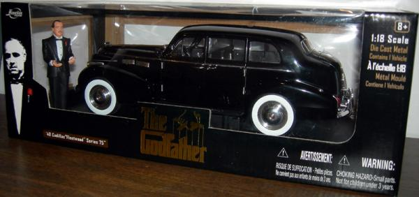Godfather 40 Cadillac Fleetwood Series 75 1-18 die cast