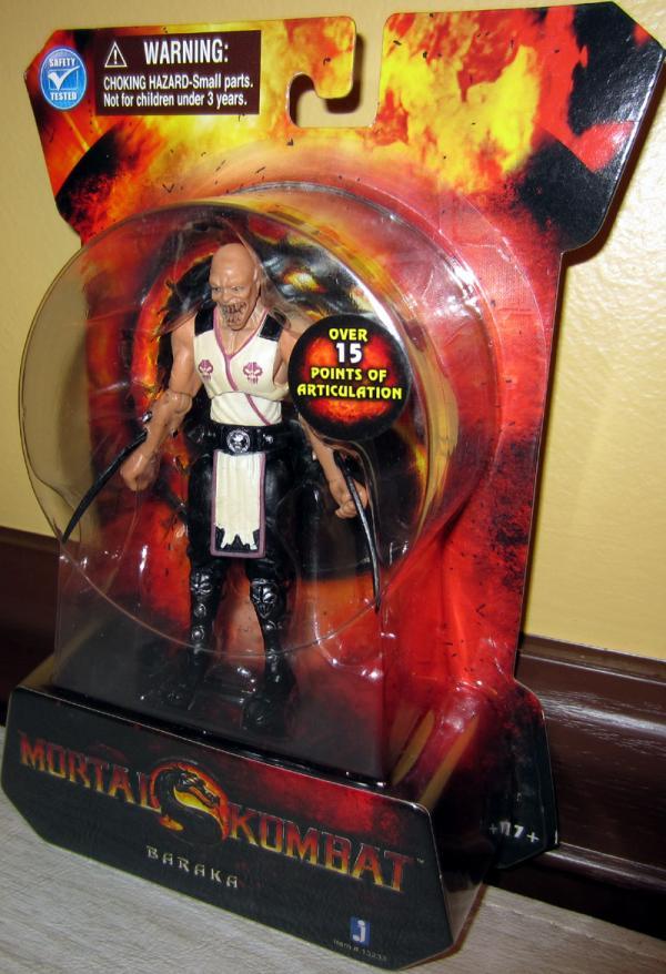 Baraka Action Figure 4 Inch Mortal Kombat Jazwares