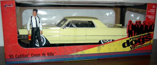 Reservoir Dogs 65 Cadillac Coupe DeVille 1-18