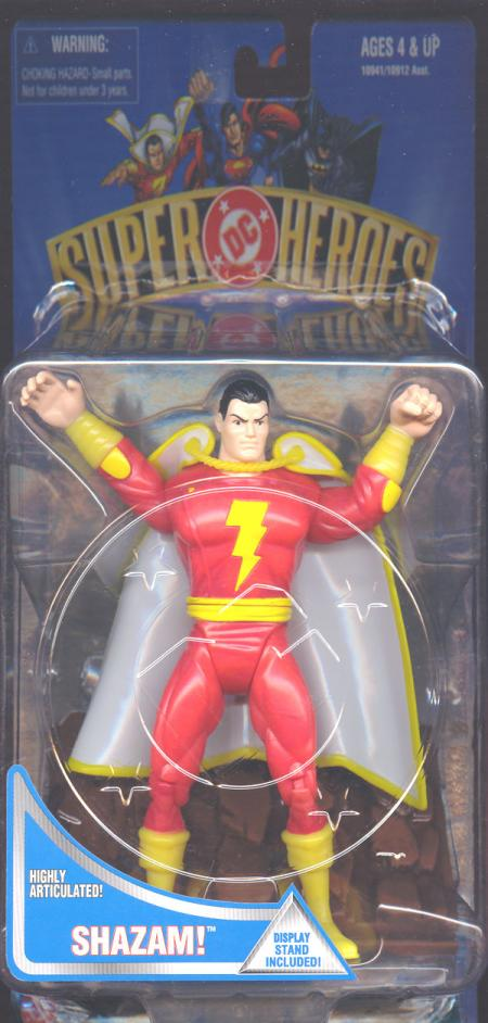 7 inch Shazam, DC Super Heroes