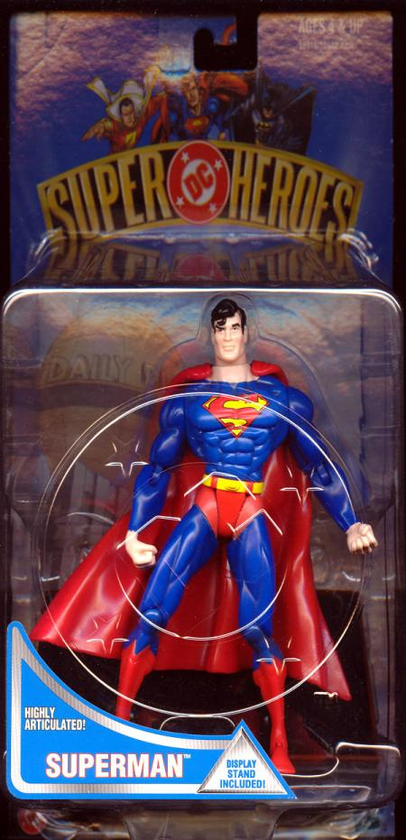 7 inch Superman, DC Super Heroes