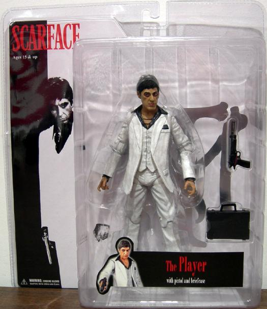 7 inch Scarface, Player, white suit