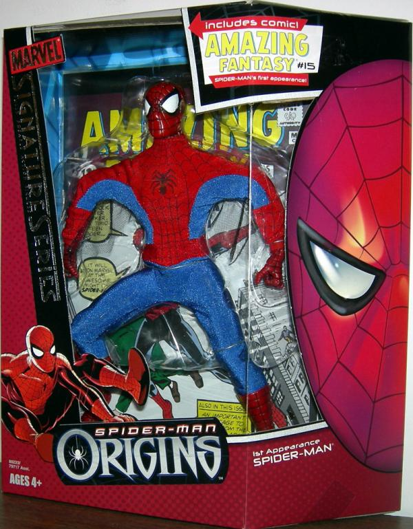 8 inch 1st Appearance Spider-Man, Signature Series Origins