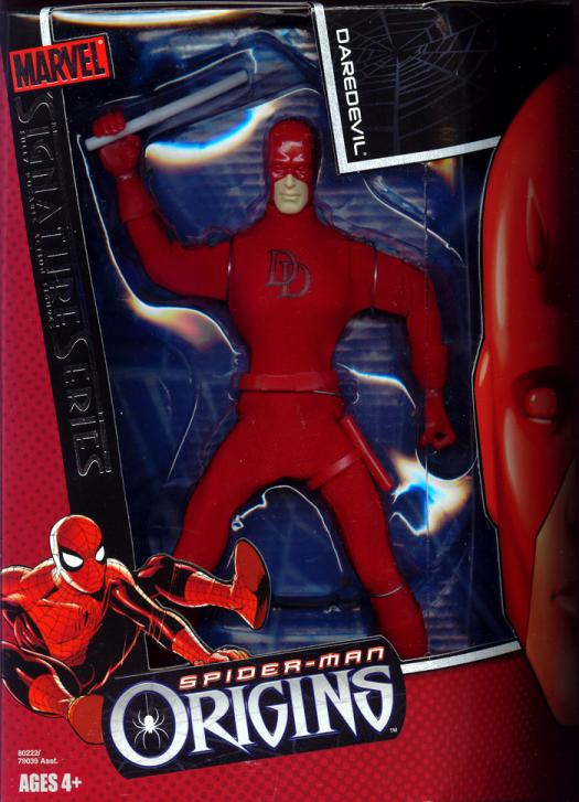 8 inch Daredevil, Spider-Man Origins