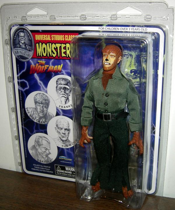8 inch Wolfman, Universal Studios Classic Monsters
