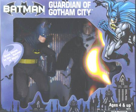 9 inch Guardian Gotham City, blue
