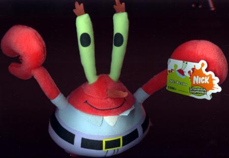 9 inch Mr Krabs Plush