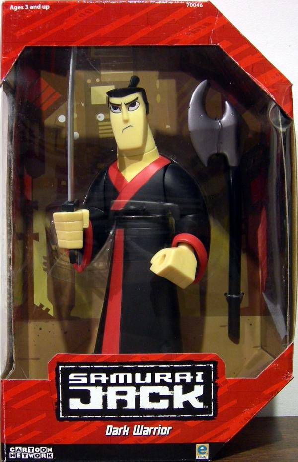 9 inch Samurai Jack Dark Warrior action figure