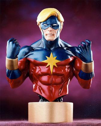 Bowen Designs Captain Marvel Mini Bust 1970s
