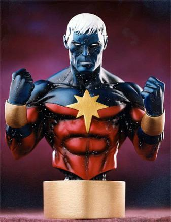 Bowen Designs Captain Marvel Mini Bust Modern
